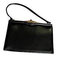 Top Handle Genuine Leather Purse