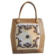 Unique Mahler Of California Designer 1960's Handbag