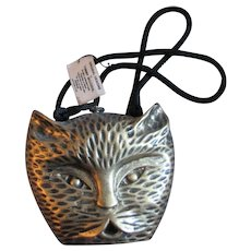 Wooden Timmy Woods Cat Purse