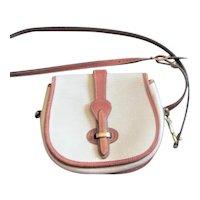 Dooney & Bourke Two Color Cross Body Bag
