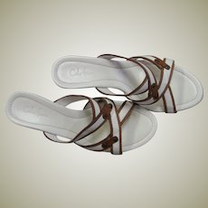Beautiful Cole Haan Strappy Sandal Wedges