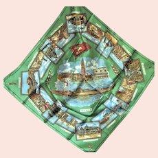 Souvenir Scarf From Venice Italy