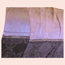 Beautiful Echo Pink & Brown Silk Scarf