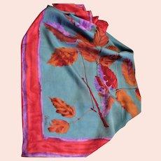 Vintage Stunning Vera Silk Scarf