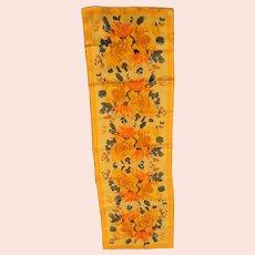 Beautiful Bright Colored Vera Silk Scarf