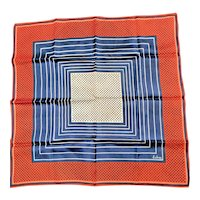 Signed & Labled Echo Chinon & Silk Scarf