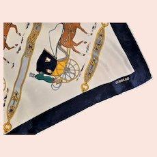 Horse & Buggy Codello Designer Silk Scarf