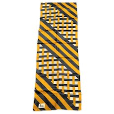 Signed Marcus Silk Rectangle Scarf