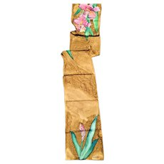 Beautiful  Handmade Silk Signed Scarf