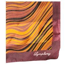 Marked & Labeled Symphony Silk Scarf