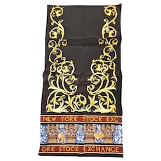New York Stock Exchange Silk Souvenir Scarf
