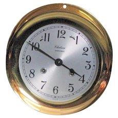Chelsie Handcrafted Solid Brass Timepiece