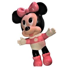 Wonderful Large Rubber Minnie Mouse