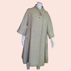 Spectacular Wool Long Lilly Ann Coat