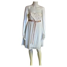 Vintage Gunny Sax Spaghetti Strap Dress