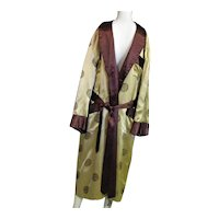 Great Vintage Oriental Labeled Robe