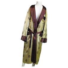 Great Vintage Oriental Labeled Robe