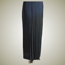 Steller Vintage Zelda Long Black Skirt