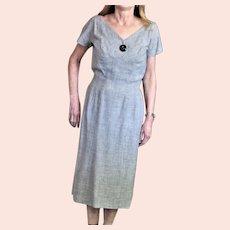 GiGi Young New York Gray Slim Dress