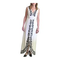 Fabulous Jack Bryan Black & White Dress
