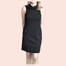 Black Triute, Herineman Fitted Dress