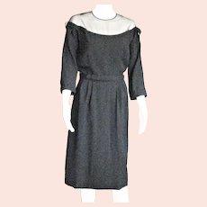 Spectacular 1950'sBlack Party Paul Sachs Dress
