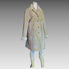 Warm Wonderful Jones New York Faux Shearling Coat