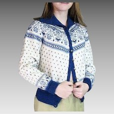 Handmade In Denmark All Wool Cardigan