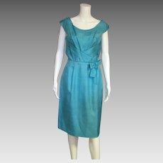 Stunning Detail 1960's Vintage Dress