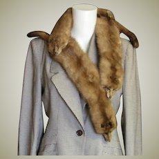 Full Pelts 1940-'50's Mink Fur Piece