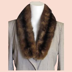 Dark Full Mink Collar
