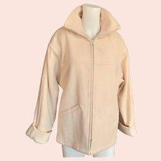 Very Nice 1980's Woolrich Short Wool Coat