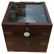 A Charles Frodsham Boxed Marine Chronometer