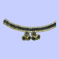 HATTIE CARNEGIE  Bracelet Earrings Demi Parure SET