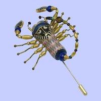 Jewelry 10 CYNTHIA CHUANG Scorpion Stick Pin