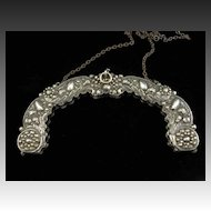 Early 19th Century French Repousse Silver Purse Frame