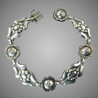 Georg Jensen Arts and Crafts Bracelet Number 18