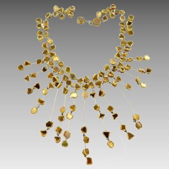 Line Vautrin Talosel Bib Necklace