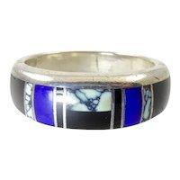 Ray Tracey Navajo Inlay Ring