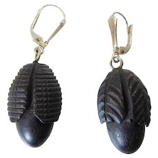 Victorian Mourning Earrings