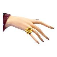 18 Karat Gold Pinwheel Ring