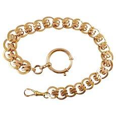 Antique 14 Karat Gold Watch Chain