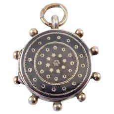 Antique Niello Locket