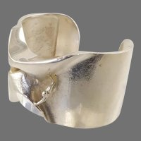 Lapponia Man from Mercury Sterling Cuff Bracelet