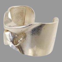 Lapponia Man from Mercury Sterling Cuff Bracelet