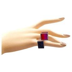 Jose Bribiesca Modernist Ring
