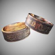 Victorian Large Wedding Bracelets 14k