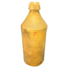 Rare Stoneware Beer Bottle c1870 Avery Lord - Utica, NY