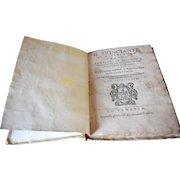 """1593 Il Trinciante Di M. Vincenzo Cervio """"The Carver"""" Wood Block Prints, Rare Book"""