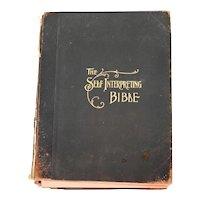 1905 The Self Interpreting Bible 4 Volumes Maps Illustrations